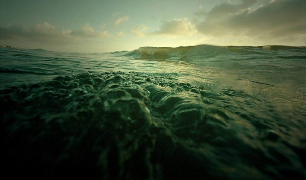 Sea waves lomo