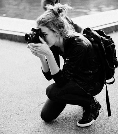 Hobby fotografia coppia a distanza