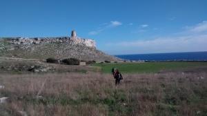 Torre Sant Emiliano avvicinamento climbing
