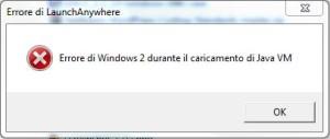 Errore Entratel - Desktop Telematico